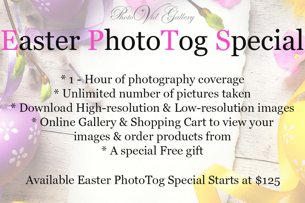Easter Photography Special