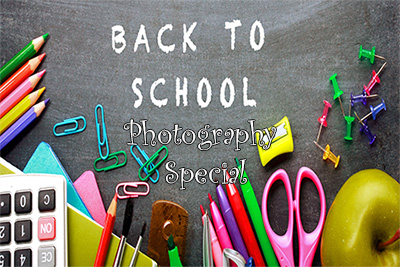 Back To School Photography Special