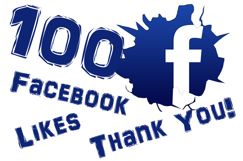 100 Facebook Like's And Growing