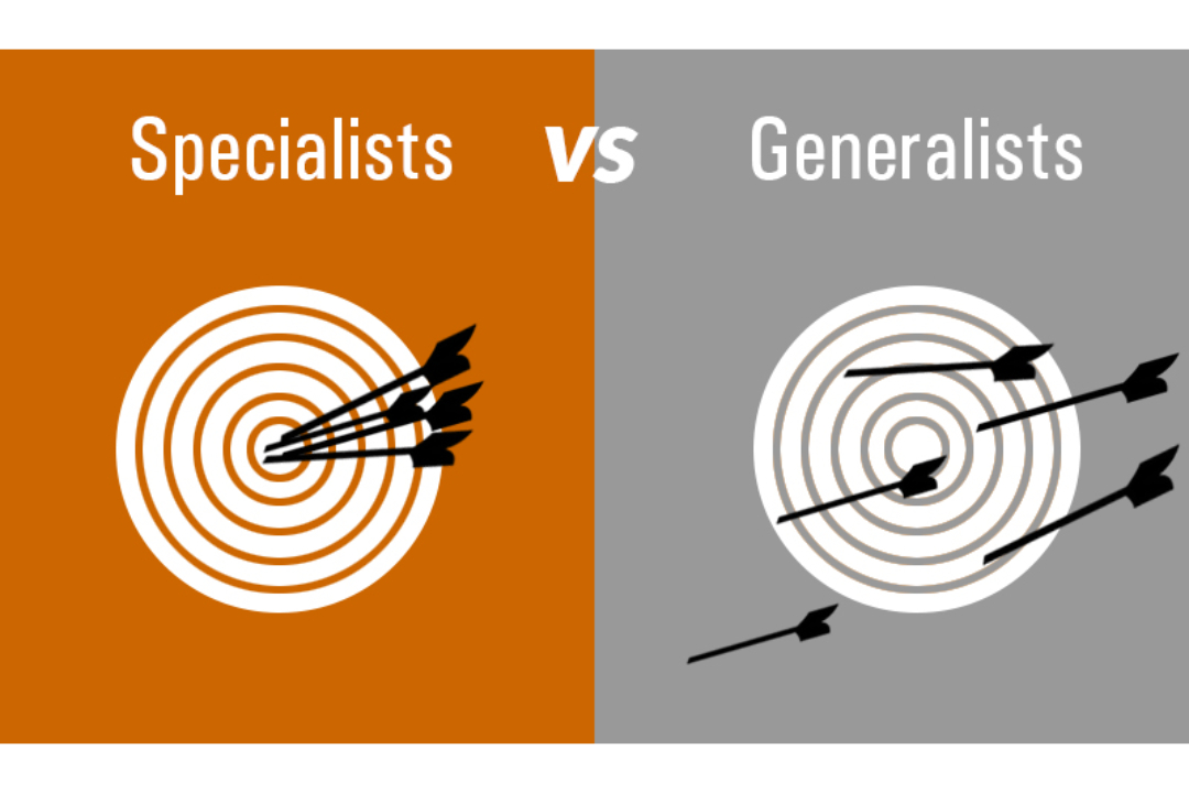 Are you a Specialist are Generalist from the  5 Mistakes I Made that Cost Me Business.